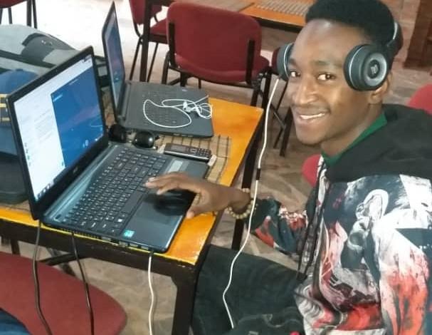 Un des 25 jeunes entrepreneurs guinéens formés par le centre du commerce international dans le cadre du programme INTEGRA