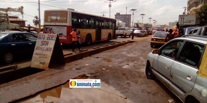 Un embouteillage à Conakry