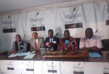 Des avocats du Front national pour la défense de la constitution (FNDC) et des opposants arrêtés et détenus