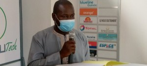 Dr. Facinet Conté, directeur général adjoint du Fonds National pour l'Insertion des Jeunes (FONIJ)