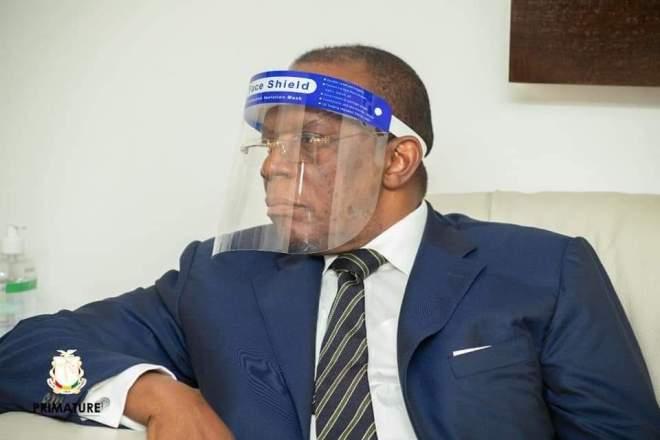 Dr Ibrahima Kassory Fofana ,Premier Ministre Chef du Gouvernement