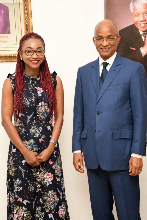 Nadia Nahman et Cellou Dalein Diallo