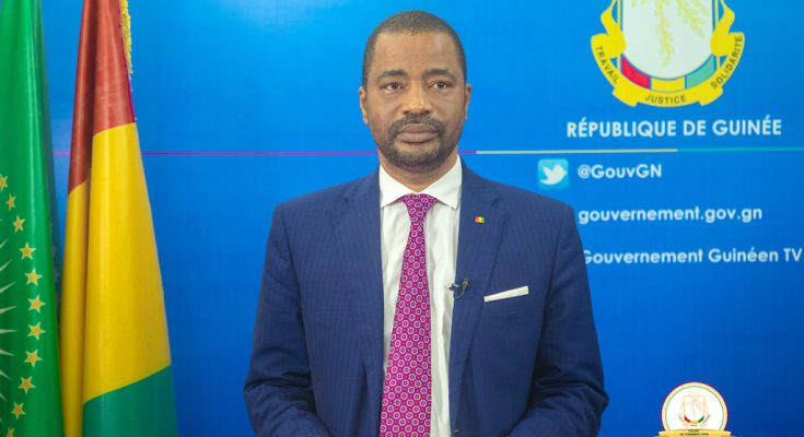 Tibou-Kamara-porte parole du gouvernement guinéen