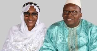 Hadja Maïmouna Bah Diallo épouse du détenu Ibrahima Chérif Bah