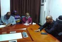 Le Ministre de l'éducation nationale Bano barry