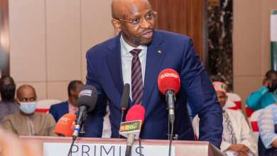 le Ministre des Postes, des Télécommunications et de l'Economie Numérique Saïd Oumar Koulibaly