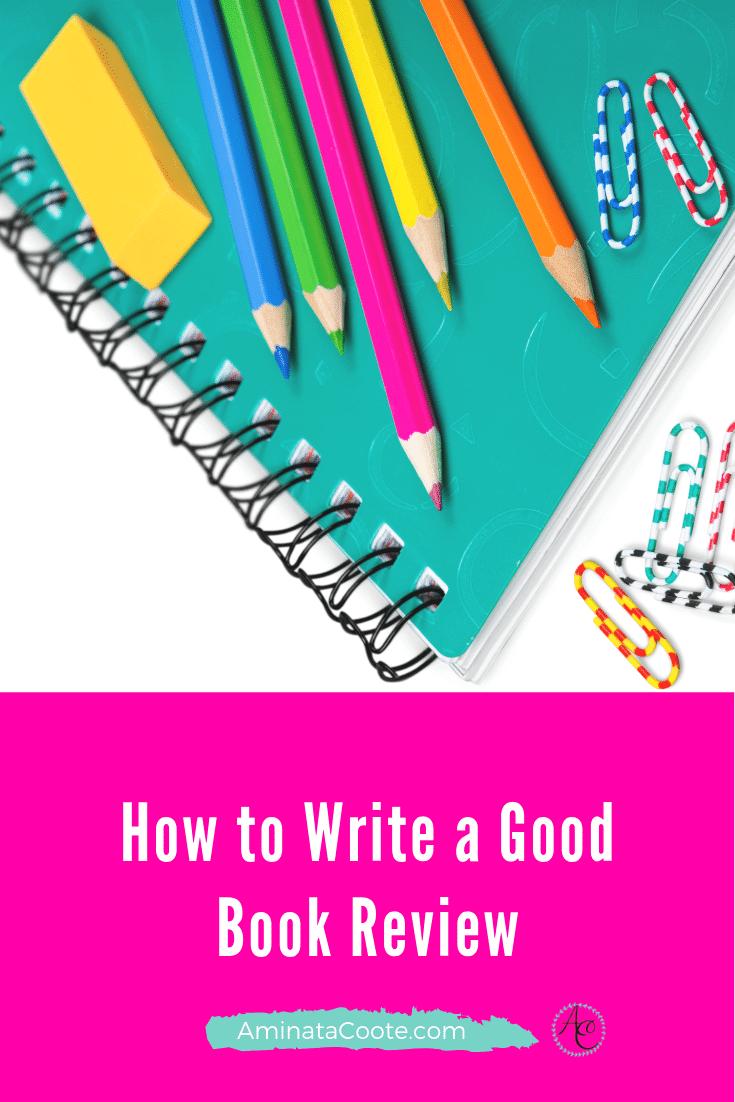 How Write a Good Book Review