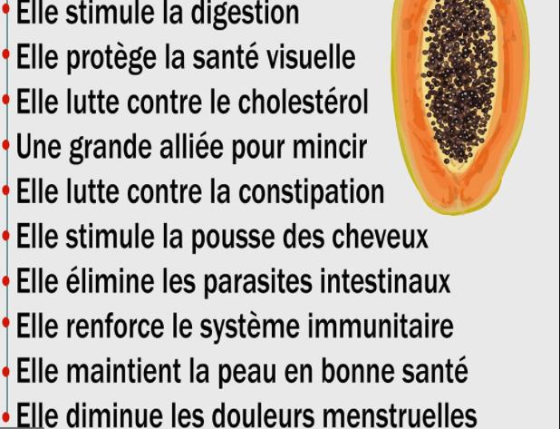 Quels sont les bienfaits de la papaye ?
