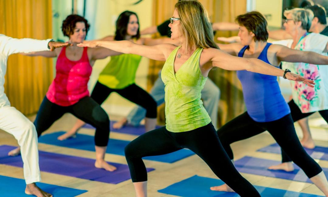 guerrier 2 yoga
