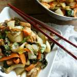 Stir-Fried Chicken and Bok Choy