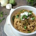 Salsa Verde Spaghetti
