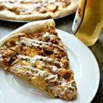 Pineapple Chipotle Chicken Pizza