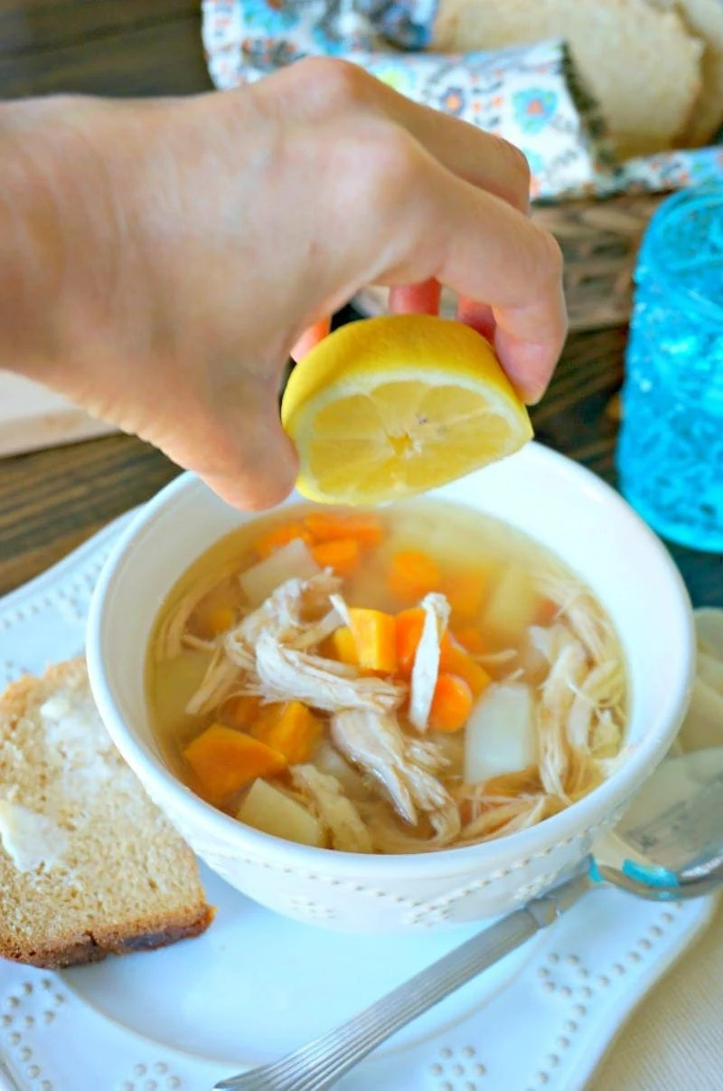 From Scratch Chicken Soup
