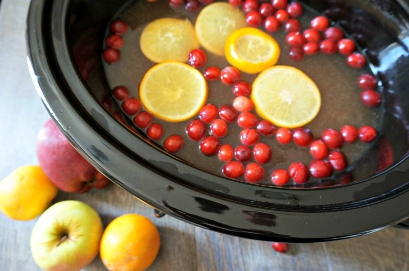 Mulled Pineapple Apple Cider