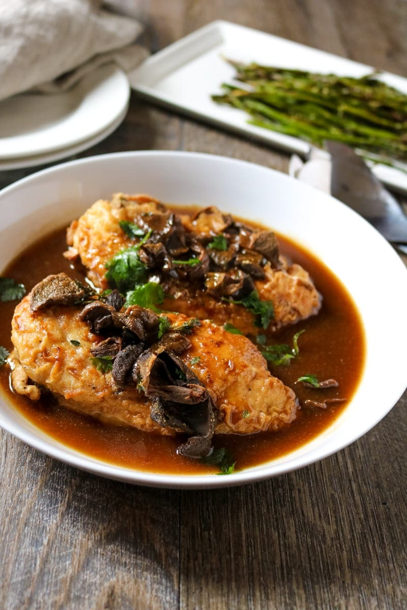 Chicken Marsala: EASY, IMPRESSIVE dinner for entertaining or date night in.