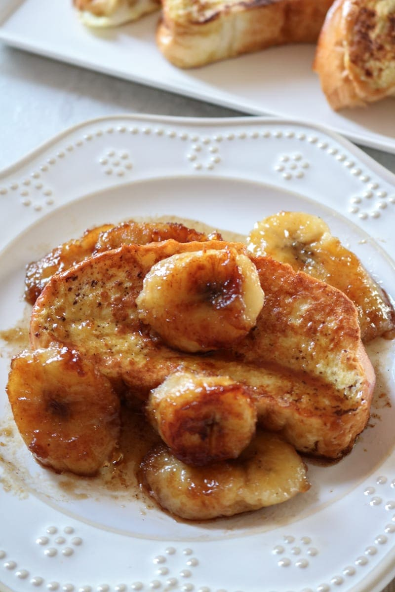 Brioche French Toast with Caramelized Bananas