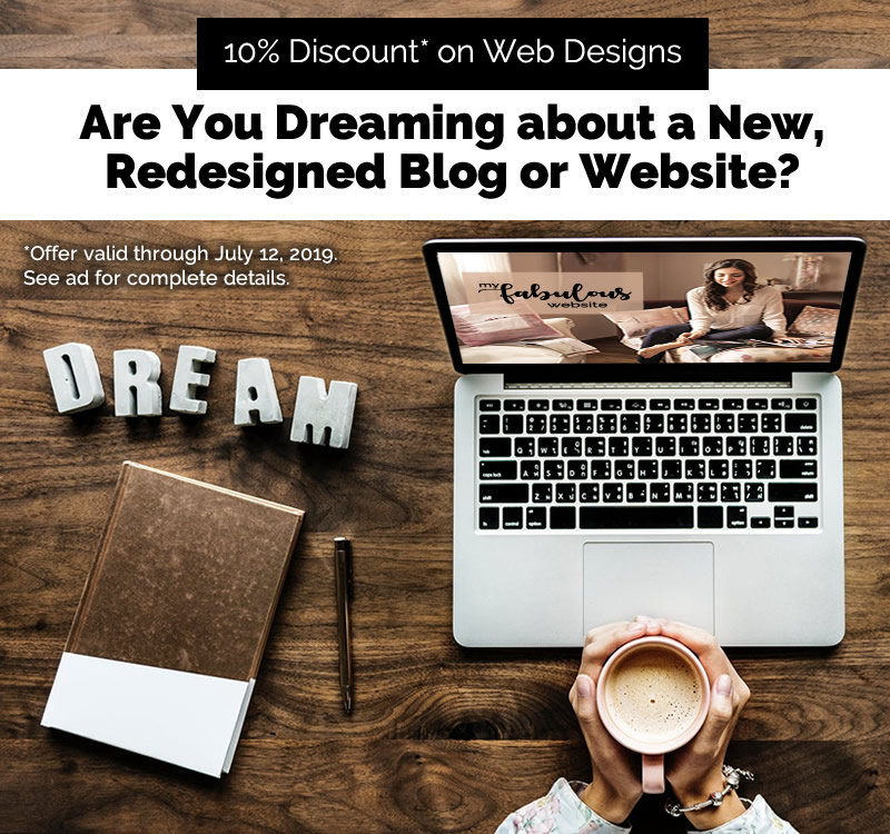 10% Discount on Web Designs. Limited Offer. Act Now!