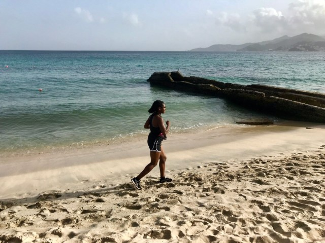 Mindful running blog, Grenada, Image by Nadine Grant