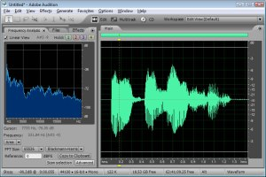 Sampling and Digitizing the Sound