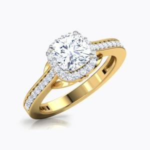 Solitaire rings;