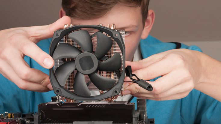 Install the CPU and CPU Fan 2021
