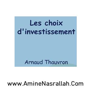 Choix d_Investissement