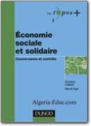 Economie Sociale et Solidaire - Gouvernance et Contrôle