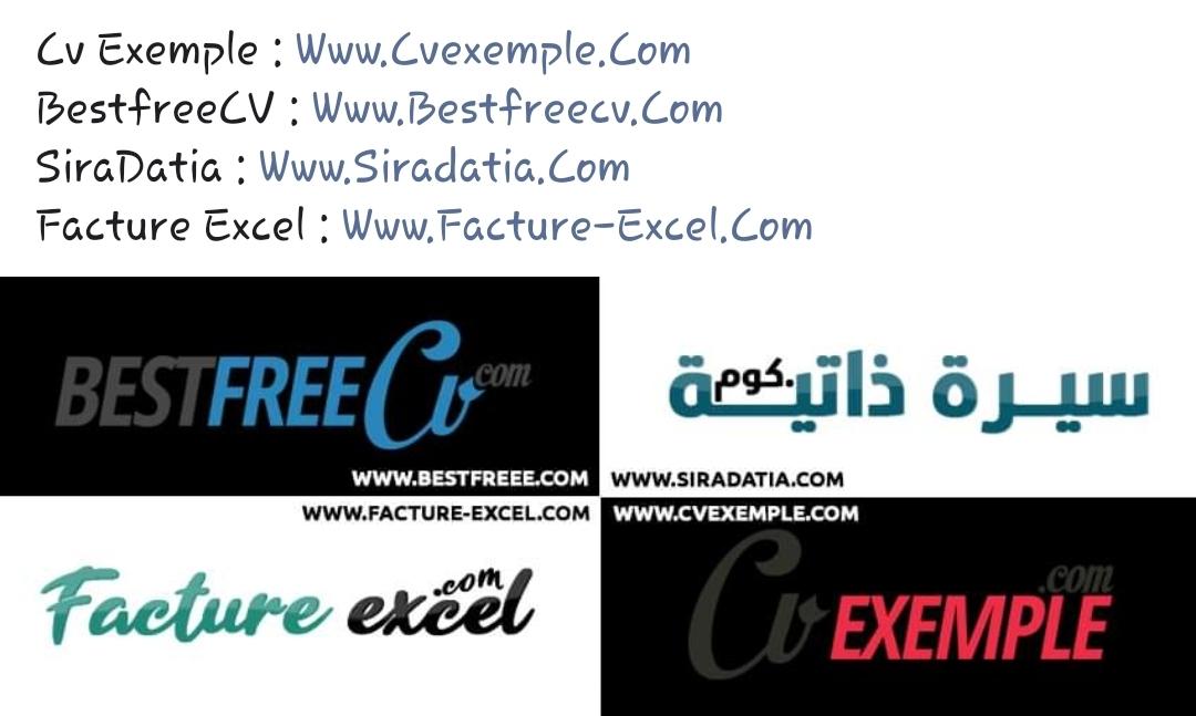 نماذج سيرة ذاتية مجانية Amine Nasrallah