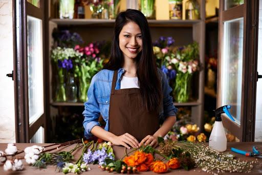 florista plano de negócios