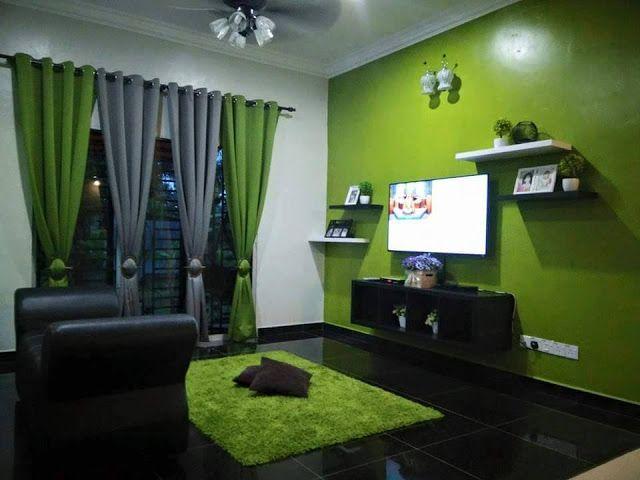 Susun Atur Ruang Tamu Rumah Teres Desain Dekorasi Rumah