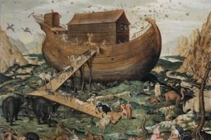 Noah's_Ark_on_Mount_Ararat_by_Simon_de_Myle