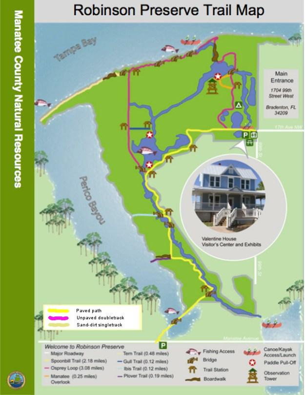 Robinson Preserve Bike Trails