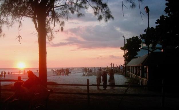 Sunset at the Sandbar