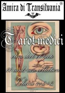 Tarocchi dell'antica medicina e anatomia