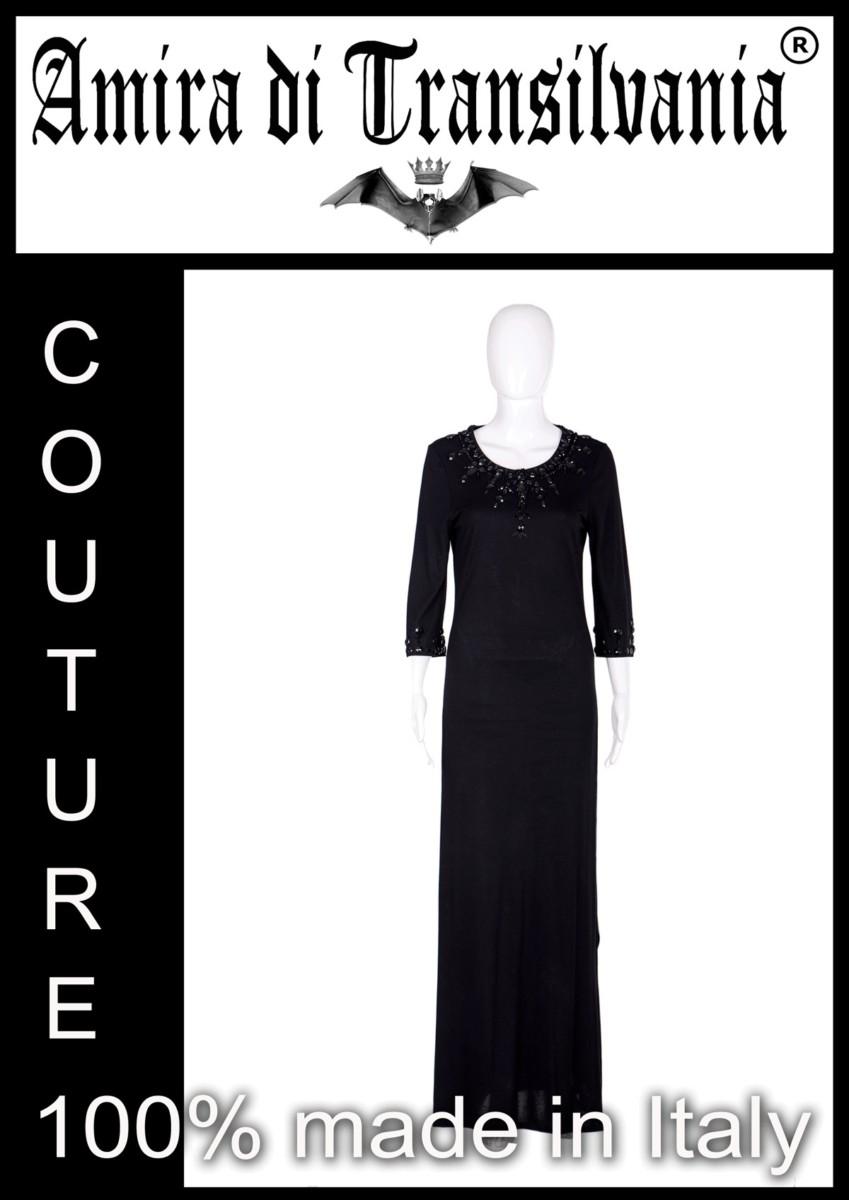 black-collection-abito-nero-ricamo