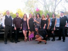 April - My birthday was very special; we rented a limo to take us up to the city and one of my friends from Argentina even came up!
