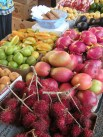 Beautiful fruit at a roadside fruitstand