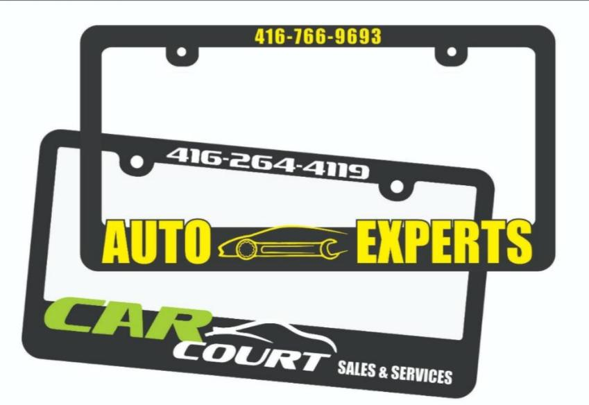 The Advantages of Getting a License Plate Frame