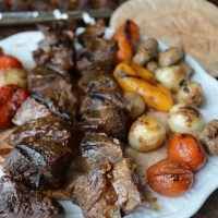 Shish Kabob : with the best marinade EVER