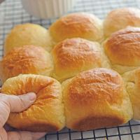 Fluffy Buttery Dinner Rolls