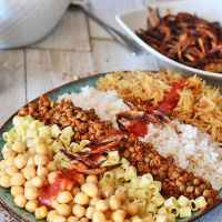 Koshari; The National Dish of Egypt