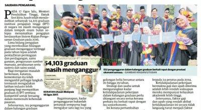 graduan universiti kini