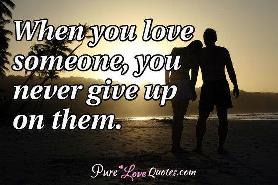 jangan cepat give up