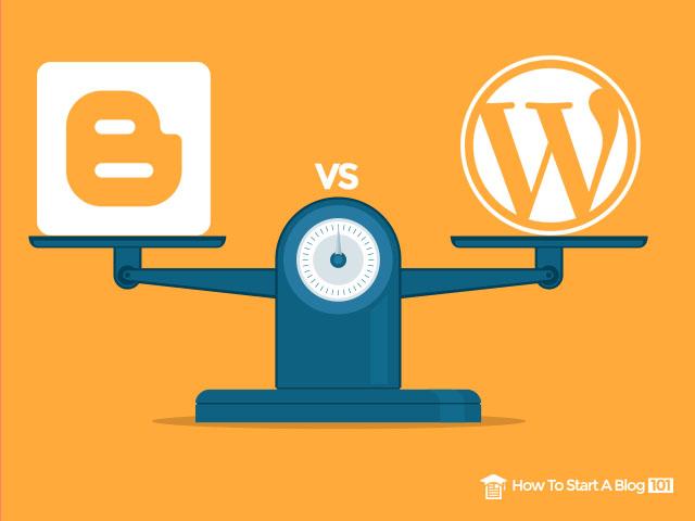 buat duit dengan wordpress dan blogger