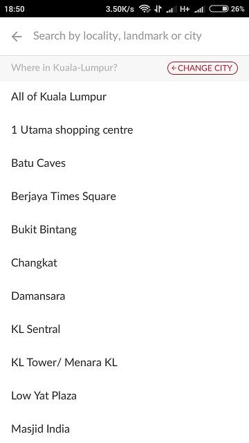 Lebih specific lagi di kawasan mana di Kuala Lumpur