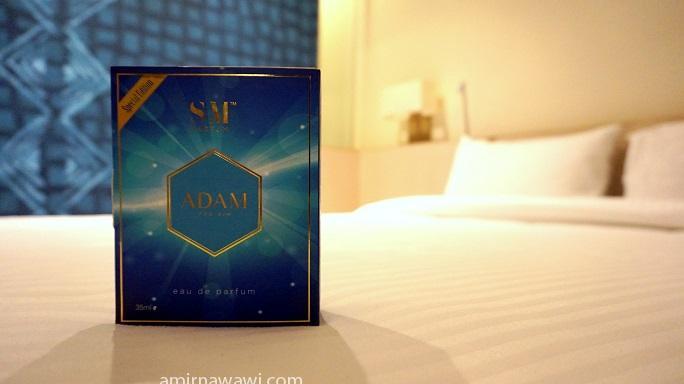 Gunakalah seleksi wangian SM Parfum dimana jua termasuk di bilik tidur anda :)