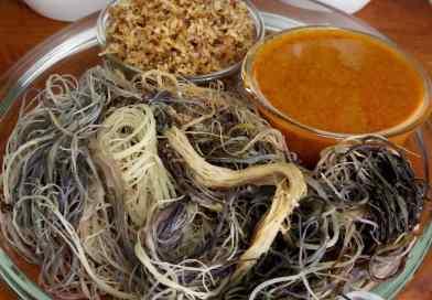 Resepi Kerabu Sarang Kelantan – Kerabu Sare/Kerabu Saghe