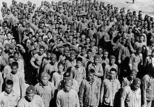 Travailleurs chinois arrivant en France