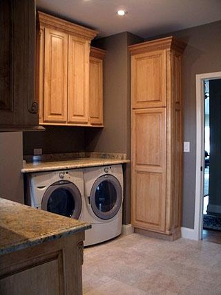 Laundry Room Cabinets - Amish Custom Furniture on Laundry Cabinets  id=75783