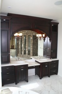 Amish Cabinets Bathroom Remodel